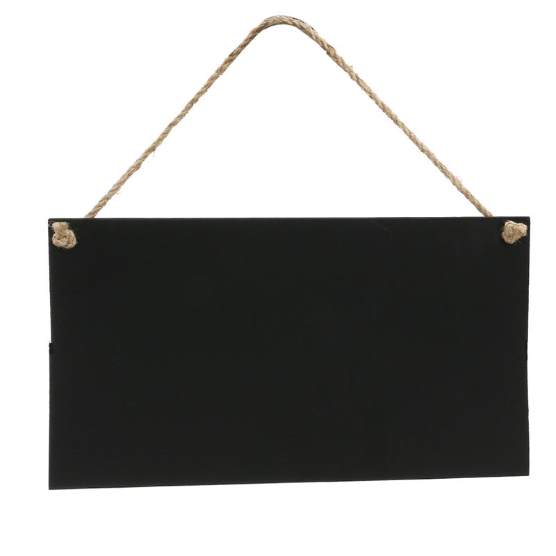 "9"" x 5"" Erasable Rectangle Chalkboards - The Rustic Chic Boutique"