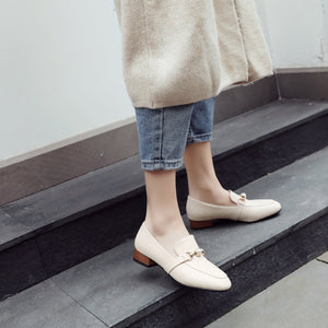 Woman's College Style Low Heels Shoes
