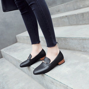 Woman Large Size Low Heeled Shoes