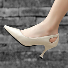 Load image into Gallery viewer, Women's Shallow Mouth High Heeled Stiletto Pumps