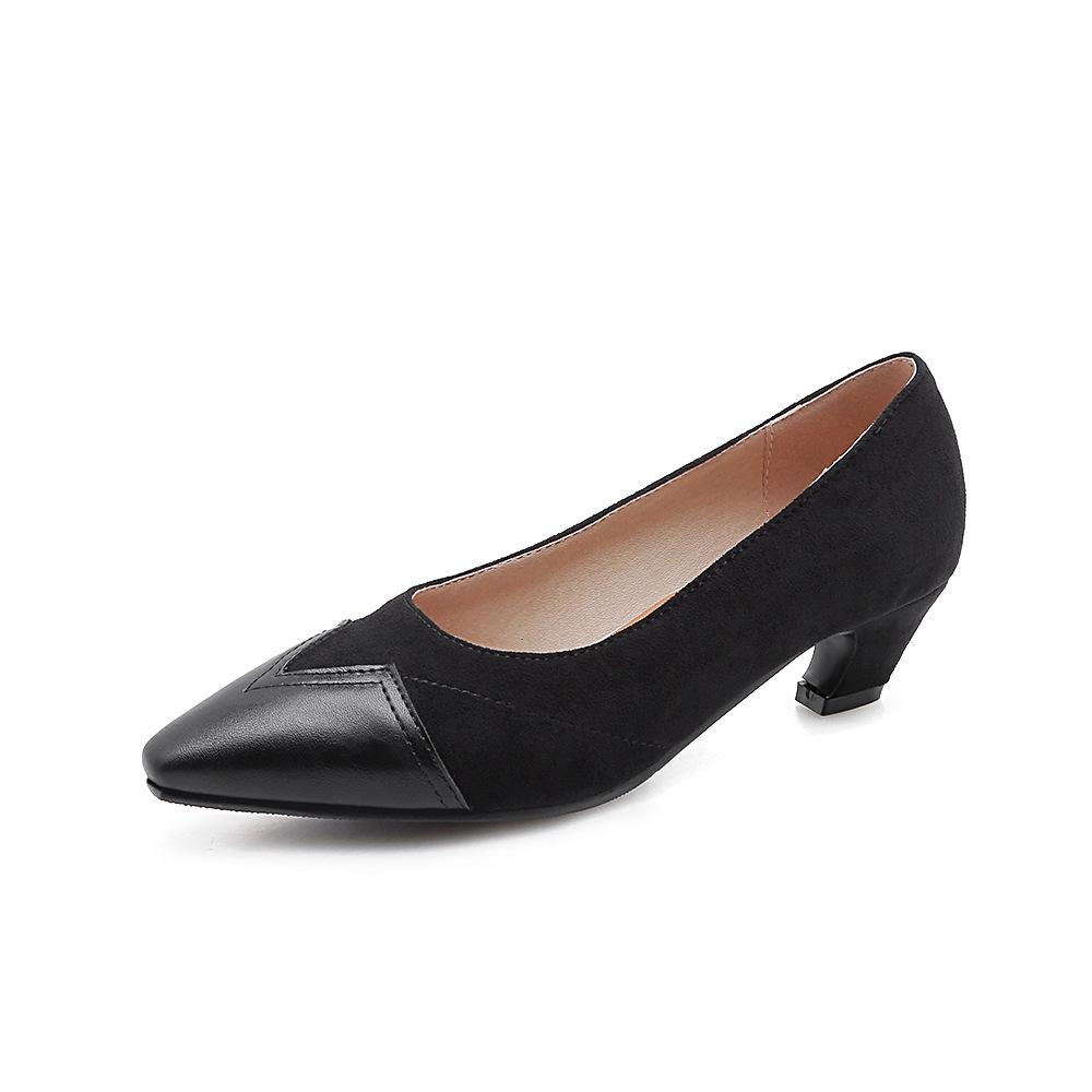 Girls's Shallow Low Heeled Pumps