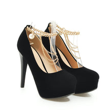 Load image into Gallery viewer, Super High Heel Wedding Shoes Platform Pumps