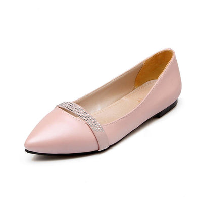Girls Woman's Shallow-mouthed Flat Shoes
