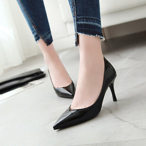 Patent Leather Stiletto Heel  Stiletto Heel  Pumps