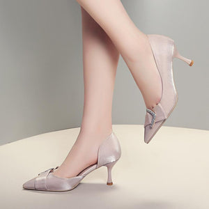 Shallow Mouth High Heels Pumps
