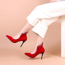 Load image into Gallery viewer, Sexy Pointed Toe Ultra-High Heels Shallow Mouth Shoes for Women