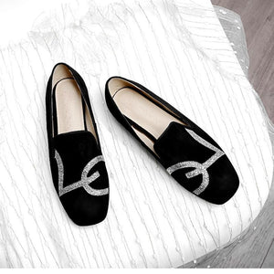 Girls Casual Shallow Mouth Flat Shoes
