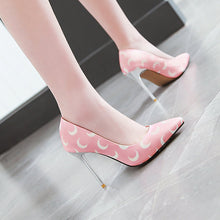 Load image into Gallery viewer, Pointed Toe Sexy Ultra-High Heels 31-46 Shallow Mouth Women Pumps Stiletto Heel Shoes