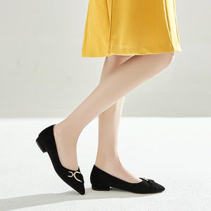 Girls's Casual Low Heeled Pumps