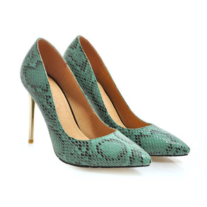 Pointed Toe Sexy Ultra-Spike Heel 31-46 Size Shallow Mouth Women Pumps Stiletto Heel Shoes