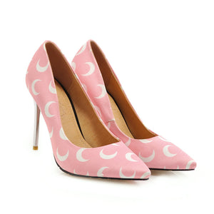 Pointed Toe Sexy Ultra-High Heels 31-46 Shallow Mouth Women Pumps Stiletto Heel Shoes
