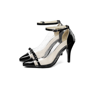 Ankle Strap High Heel Stiletto Pumps