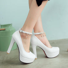 Load image into Gallery viewer, Rhinestone Super High-heel Platform Pumps