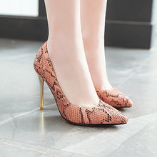 Load image into Gallery viewer, Pointed Toe Sexy Ultra-Spike Heel 31-46 Size Shallow Mouth Women Pumps Stiletto Heel Shoes