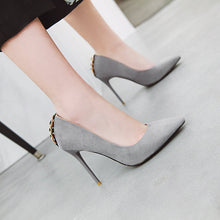 Load image into Gallery viewer, Pointed Toe Ultra-High Heels Size 31-46 Shallow Women Pumps Stiletto Heel Shoes