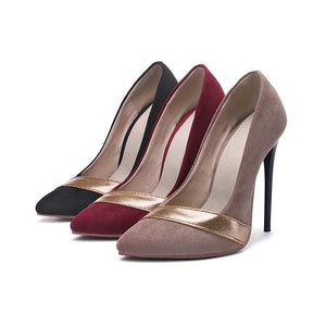 Pointed Toe Sexy High Heelsed Women Pumps Stiletto Heel Shoes