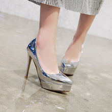 Load image into Gallery viewer, Stiletto Heel Super High Heels Women Platform Pumps