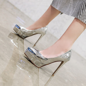 Stiletto Heel Super High Heels Women Platform Pumps