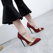 Load image into Gallery viewer, Pointed Toe Sexy High Heelsed Women Pumps Stiletto Heel Shoes