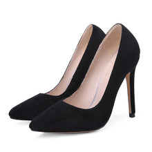 Load image into Gallery viewer, Pointed Toe Ultra-Spike Heel Shallow Women Pumps Stiletto Heel Shoes