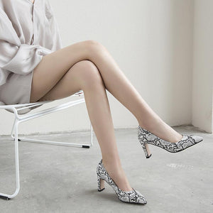 Pointed Toe High Heeled Shallow Women Pumps