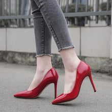 Load image into Gallery viewer, Pointed Toe High Heelsed Women Pumps Stiletto Heel Shoes