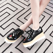 Load image into Gallery viewer, Casual Comfortable High-heeled Women Shoes with Sloping Heels Platform Wedges