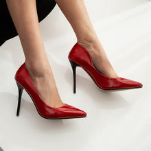 Load image into Gallery viewer, Pointed Toe Sexy Spring and Autumn Super High-heeled Spiked Women Pumps Stiletto Heel Shoes