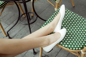 Girls Woman's Casual Light-mouthed Flat Shoes