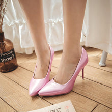 Load image into Gallery viewer, Pointed Toe Sexy High-heeled Women Pumps Stiletto Heel Shoes