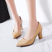 Load image into Gallery viewer, Patent Leather High Heeled Women Pumps