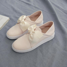 Load image into Gallery viewer, Girls Sweet Bow Casual Flat Shoes