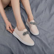 Load image into Gallery viewer, Girls Woman's Casual Round-head Flat Shoes