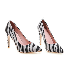 Load image into Gallery viewer, Pointed Toe Ultra-High Heels Pplus Size Women Pumps Stiletto Heel Shoes