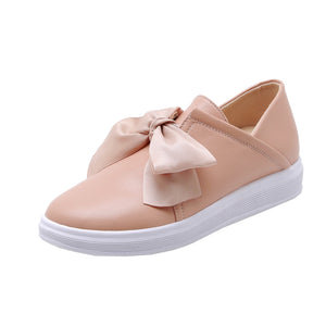 Girls Sweet Bow Casual Flat Shoes
