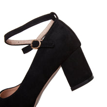 Load image into Gallery viewer, Ankle Strap High-heeled Shallow-mouth Women Pumps