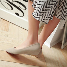 Load image into Gallery viewer, Girls Woman's Pointy Flats Shoes