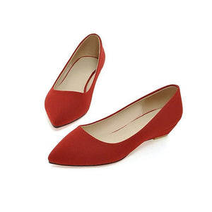 Girls Woman's Pointy Flats Shoes