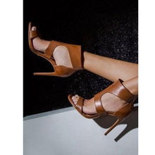 Load image into Gallery viewer, Sexy Women Shoes Rome High Heels Sandals