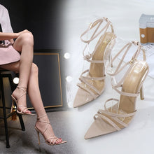 Load image into Gallery viewer, Sexy Women Shoes with Buckle High Heel Sandals