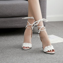 Load image into Gallery viewer, Sexy Women Shoes Ankle Strap High Heels for Summer