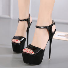 Load image into Gallery viewer, Sexy Women Shoes Nightclub Platform Super High Heels Sandals