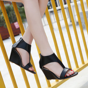 Summer Roman Women Shoes Open Toe Wedges Sandals