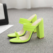 Load image into Gallery viewer, Summer Women Shoes Slippers Thick Heel High-heeled Sandals