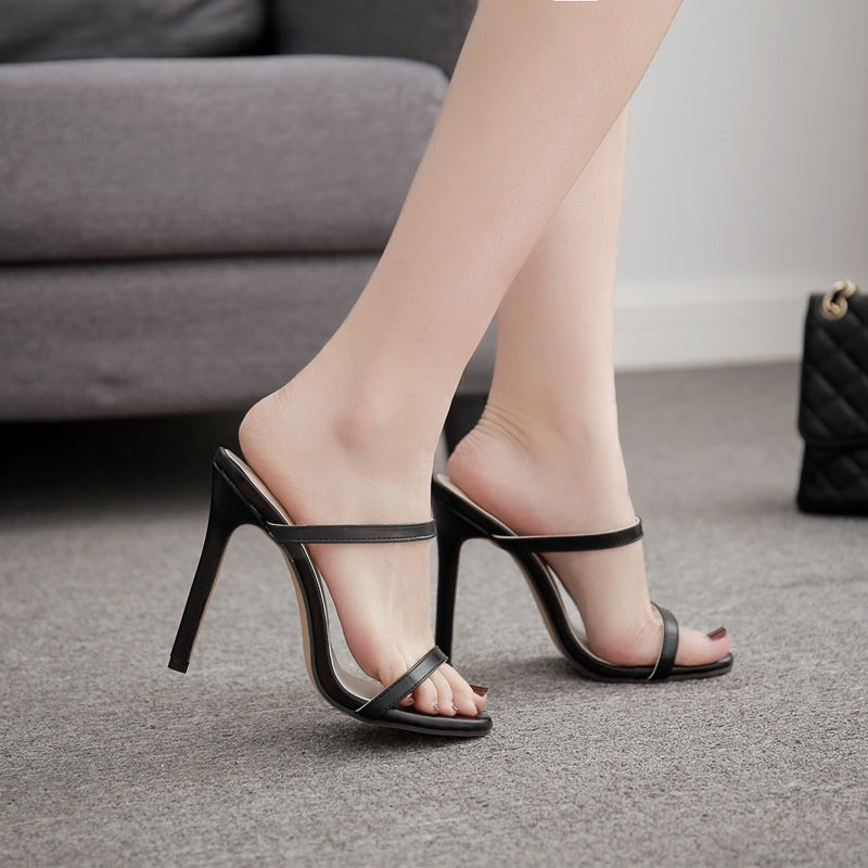 Women Summer Shoes Straps High-heeled Sandals