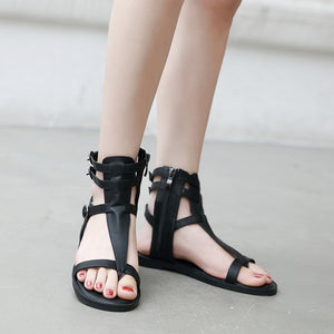 Summer Roman Sandals Casual Flat Shoes