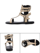 Load image into Gallery viewer, Summer Roman Sandals Casual Flat Shoes