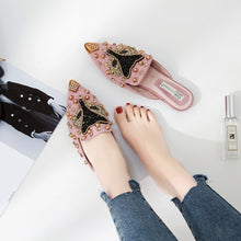 Load image into Gallery viewer, Fox Head Slippers Casual Loafer Women Shoes