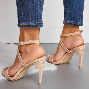 Sexy Nightclub High Heel Large Size Women Stiletto Sandals