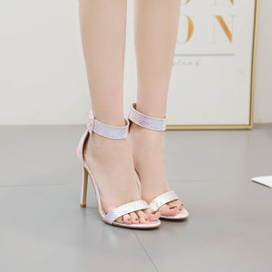 Summer Sexy Serpentine High-heeled Stiletto Sandals